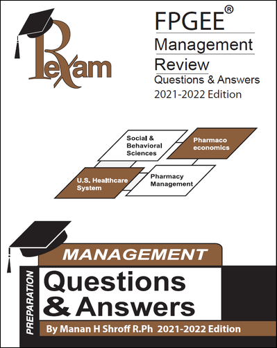 RxExam FPGEE® Management Review Questions & Answers 2019-2020 Edition