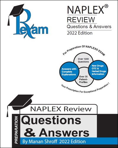 RxExam NAPLEX Review Questions & Answers 2020-2021 Edition