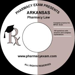 Arkansas Pharmacy Law Test (Online Access)