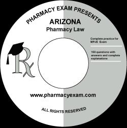 Arizona Pharmacy Law Test (Online Access)