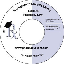 Florida Pharmacy Law Test (Online Access)
