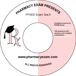 FPGEE Practice Test-5 (Cd Rom)