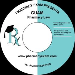 Guam Pharmacy Law Test (Online Access)