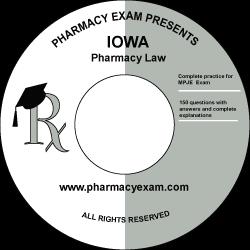 Iowa Pharmacy Law Test (Online Access)
