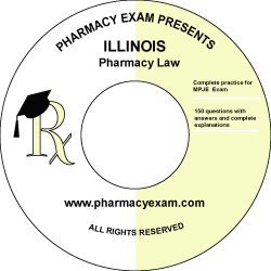 Illinois Pharmacy Law Test (Online Access)