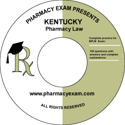 Kentucky Pharmacy Law Test (Online Access)