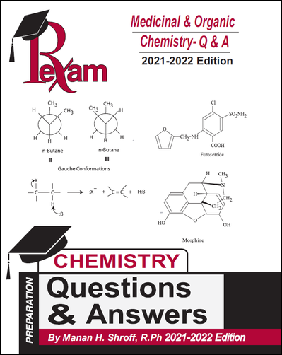 RxExam Medicinal and Organic Chemistry-Questions and Answers 2019-2020 Edition (FPGEE)