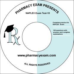 NAPLEX Practice Test 10 (Online Access)