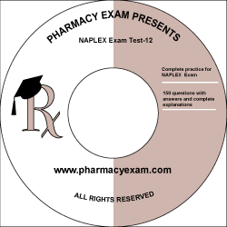 NAPLEX Practice Test 12 (Online Access)