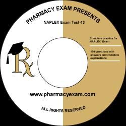 NAPLEX Practice Test 13 (Online Access)