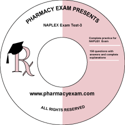 NAPLEX Practice Test 3 (Cd Rom)