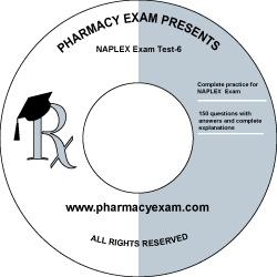 NAPLEX Practice Test 6 (Cd Rom)