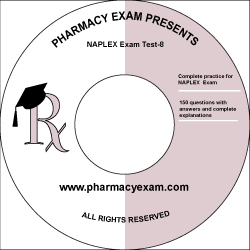 NAPLEX Practice Test 8 (Downloadable)