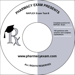 NAPLEX Practice Test 9 (Downloadable)
