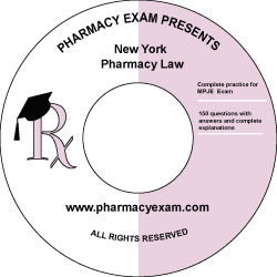 New York Pharmacy Law Test (Online Access)