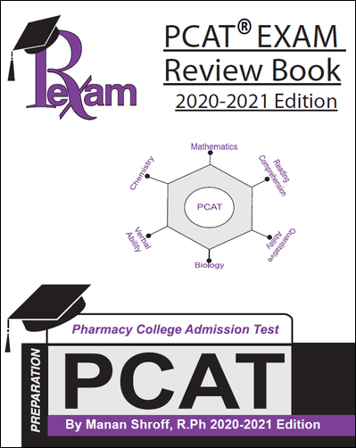 RxExam PCAT® Exam Review Book 2020-2021 Edition