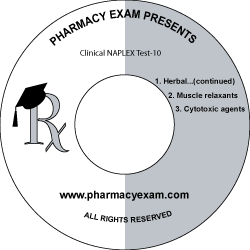 Clinical NAPLEX Test-10 (Online Access)