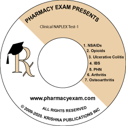 Clinical NAPLEX Test-1 (Online Access)