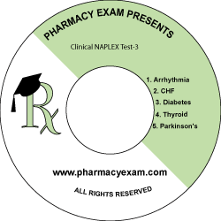 Clinical NAPLEX Test-3 (Downloadable)