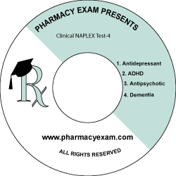 Clinical NAPLEX Test-4 (Cd Rom)