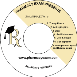 Clinical NAPLEX Test-5 (Downloadable)