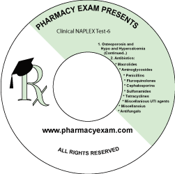 Clinical NAPLEX Test-6 (Downloadable)