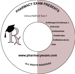 Clinical NAPLEX Test-7 (Online Access)