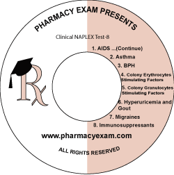 Clinical NAPLEX Test-8 (Downloadable)