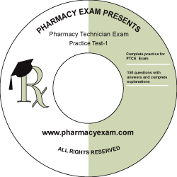 Pharmacy Technician Practice Test-1 (Downloadable)