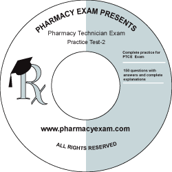 Pharmacy Technician Practice Test-2 (Downloadable)