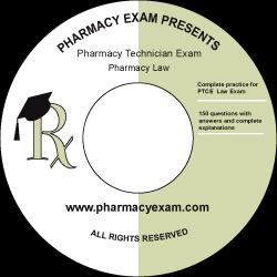 Pharmacy Technician Law (Cd Rom)