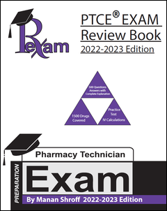 RxExam PTCE Exam Review Book 2020-2021 Edition