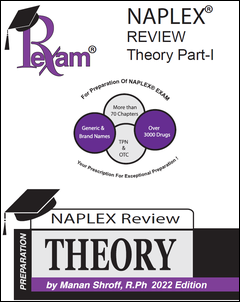 RxExam NAPLEX Review Theory Part I & Part II 2021 Edition