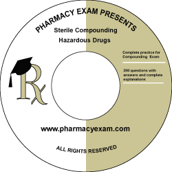 Sterile Compounding & Hazardous Drugs (Cd Rom)